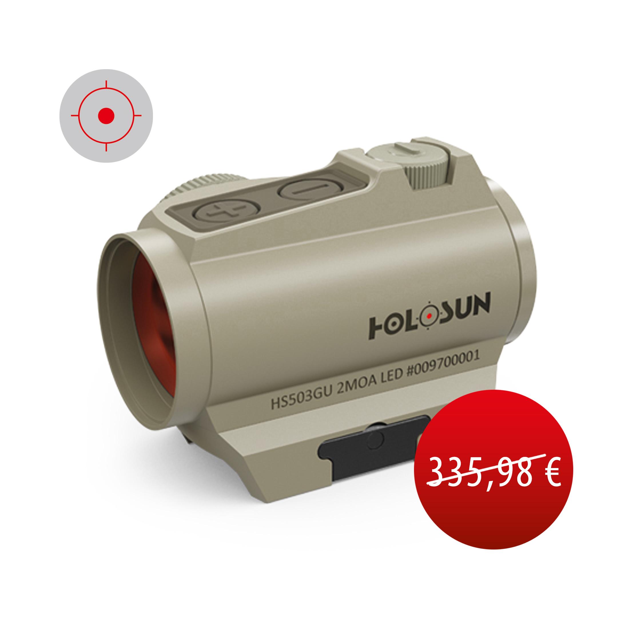 Holosun CLASSIC HS503G-U-FDE-RENEWED